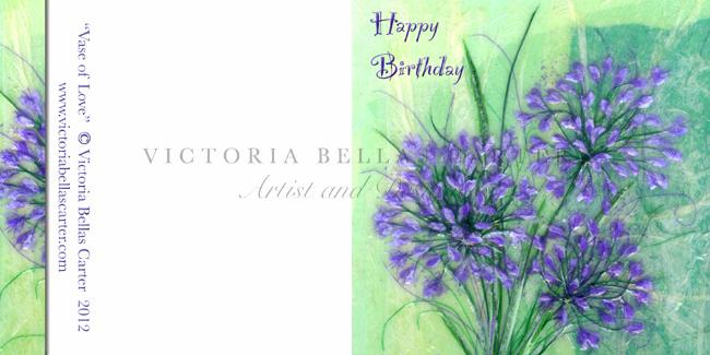 Happy Birthday 'Vase Of Love'