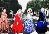 The Caerphilly version of the iconic Abbey Road look