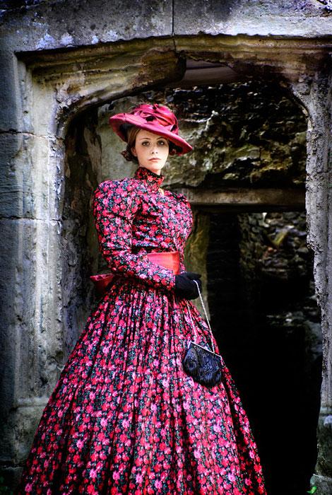 Birdcage Day Dress, 1860's