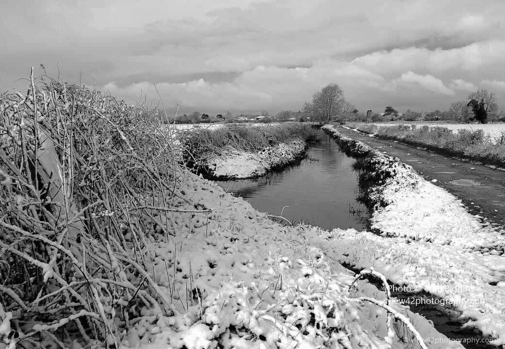Snow in The Avon Valley