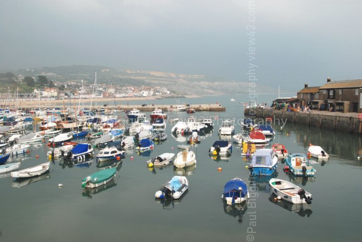 Lyme Regis in September