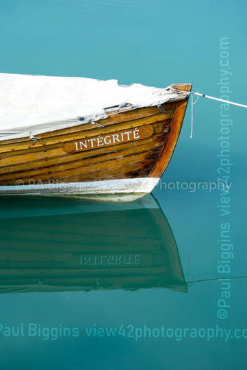 "Integrity, 16"" x 12"" incl. mount: £20"