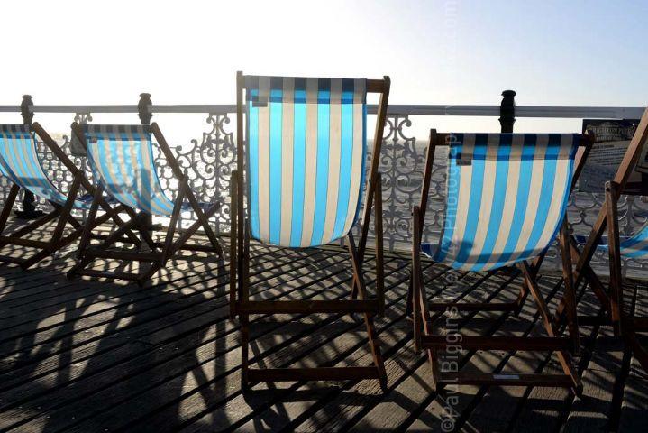 Pier Deck Chairs, Brighton