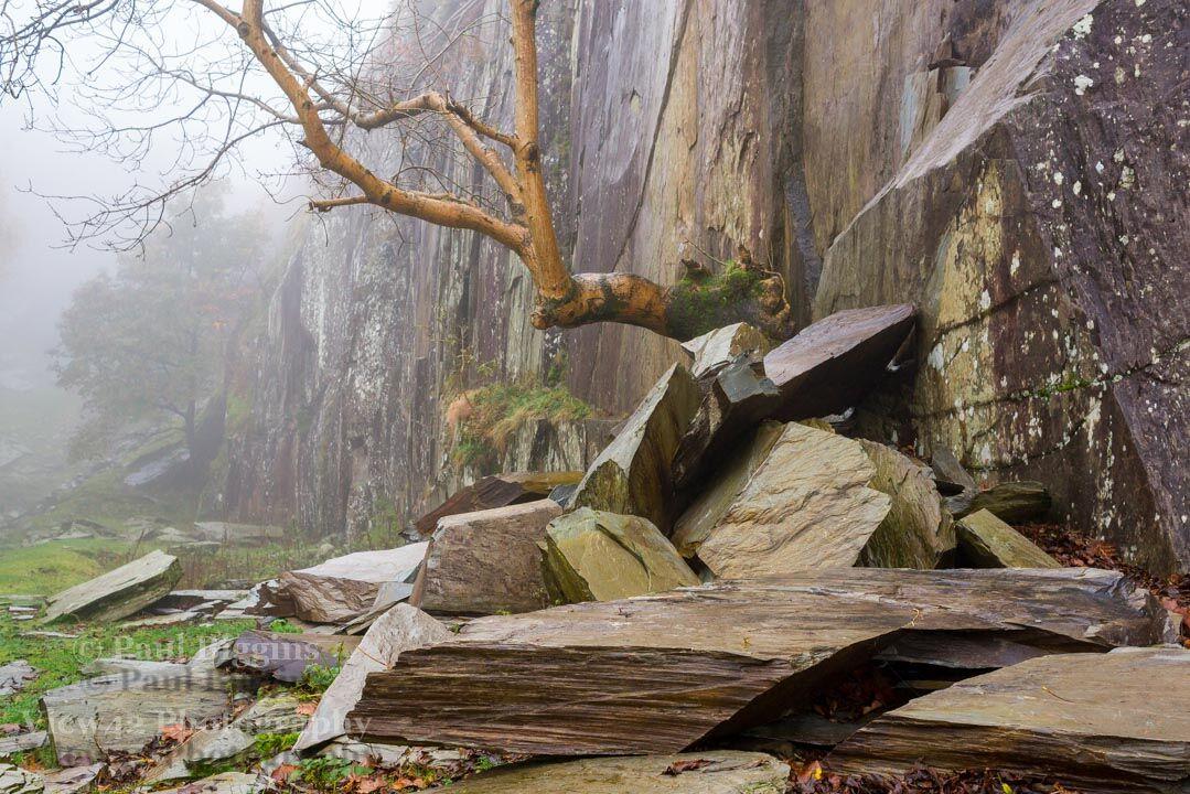 Tilberthwaite Slate Quarry, Lake District