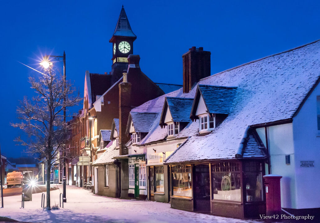 Fordingbridge Town Hall, (Beast From The East)