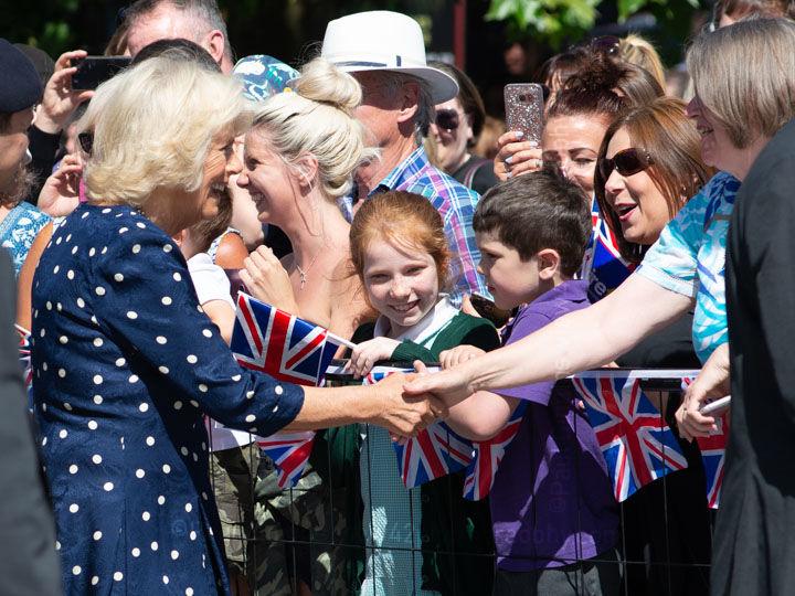 Duchess Camilla in Salisbury