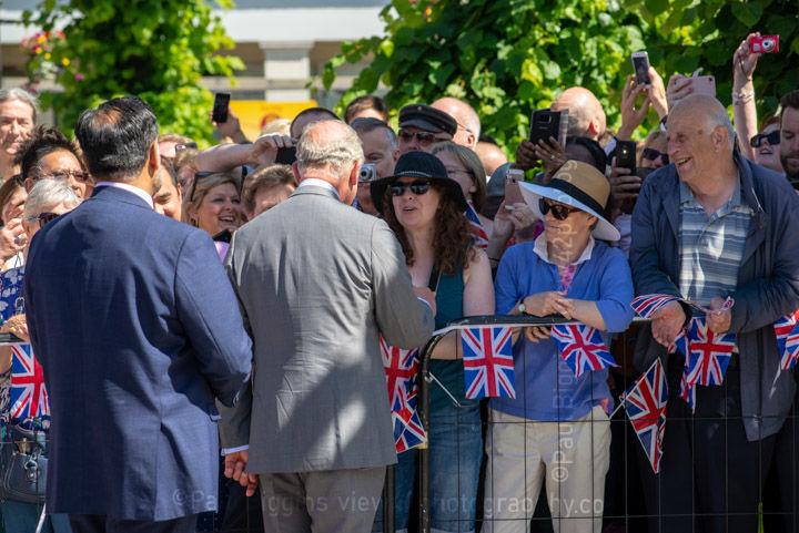 Prince Charles in Salisbury