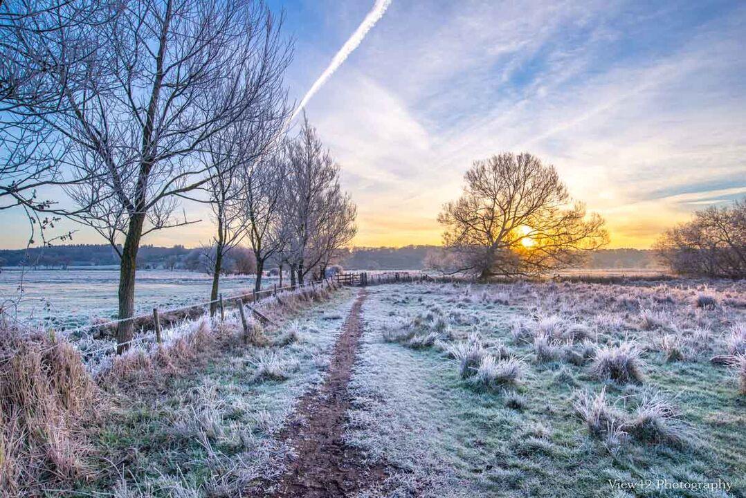 Winter in The Avon Valley