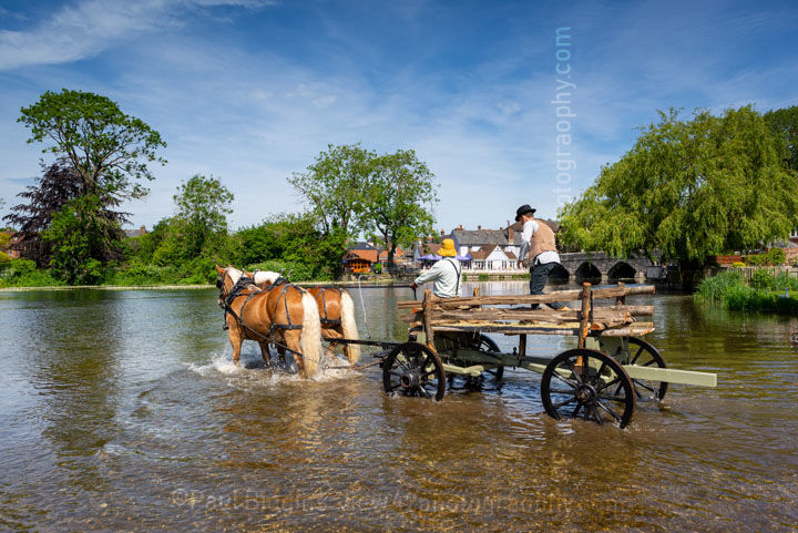 "The Hay Wain. 24"" x 18"" incl. mount, fine art paper. Limited Edition. £45"