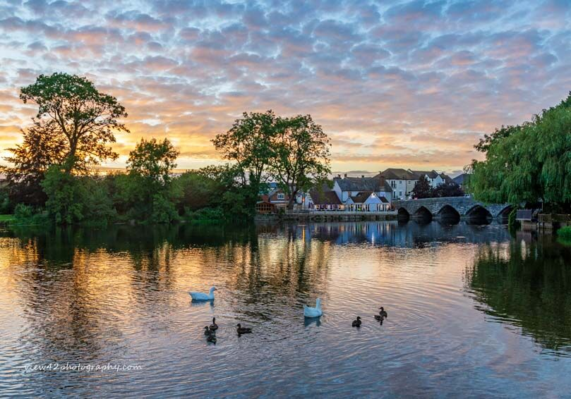 Summer Sky at Fordingbridge