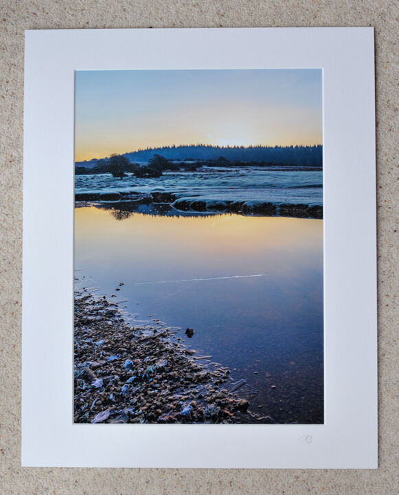"Reflective Morning at Ogdens, A3 print with 20"" x 16"" mount. £28"