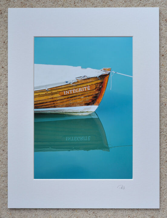 """Integrite, Lyme Regis, A4 print with 16"""" x 12"""" mount. £20"""