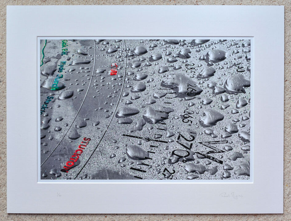 "Abbots Well Compass, New Forest, A3+ with 24"" x 18"" mount, fine art paper Limited Edition. £45"