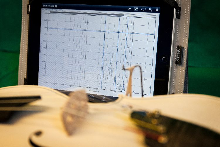 Frequency Spectrum analysis, assembled instruments.