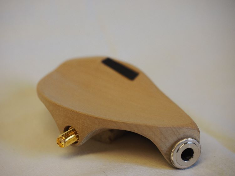 Bare wood Chinrest assembly