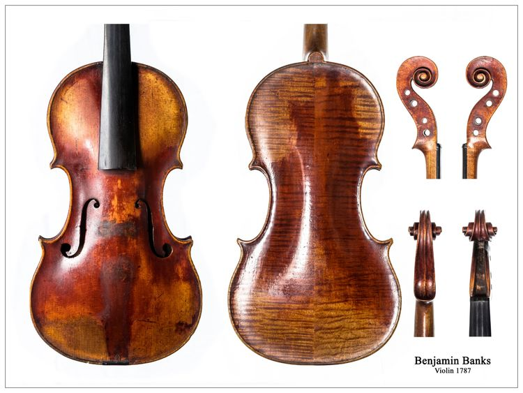 Banks 1787 Violin, Salisbury City