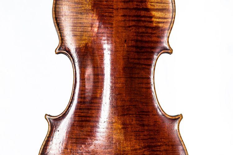 Banks 1787 Violin back