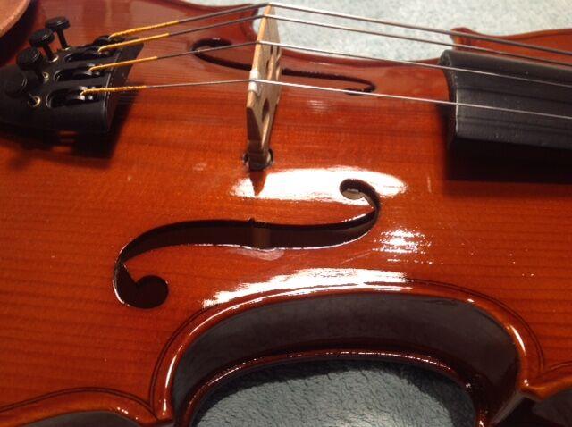 3/4 Primavera student violin, after conversion.