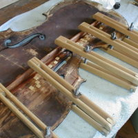 Cello bass Bar repair
