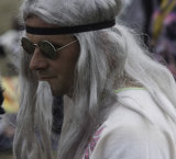 An aging hippy?