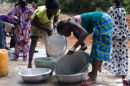 Washing up Gambian style