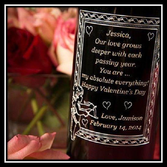 500 x 500 Valentine Message on a bottle