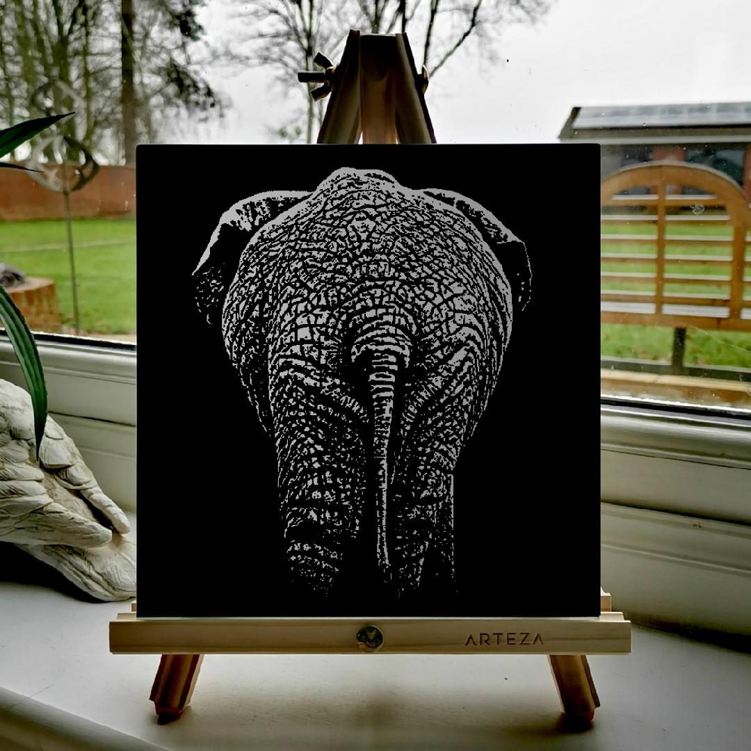 Baby Elephant Bum - £99