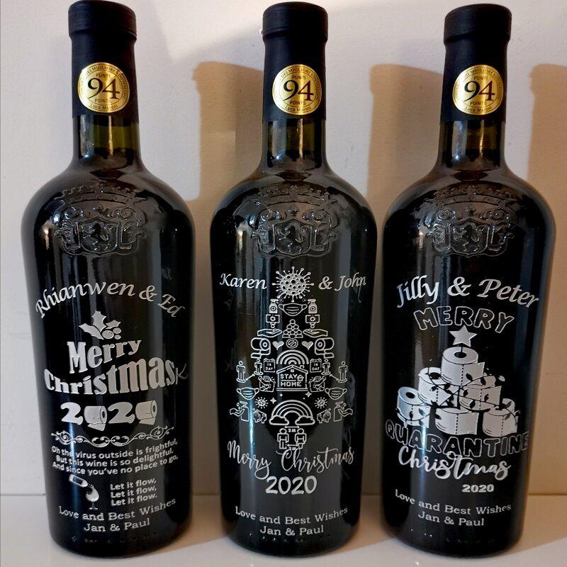 COVID19 Christmas Bottles