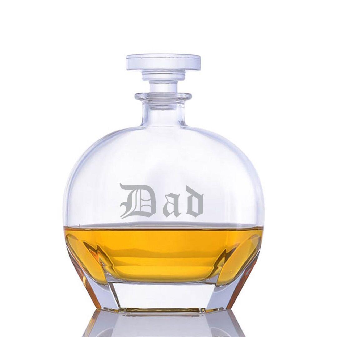 Dad - Crystal Decanter