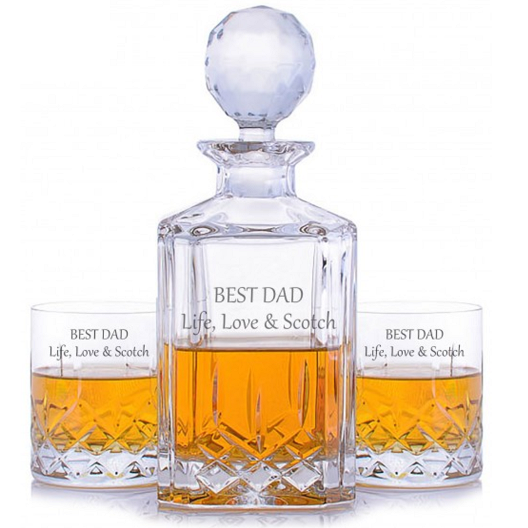 Best Dad - Whisky Decanter