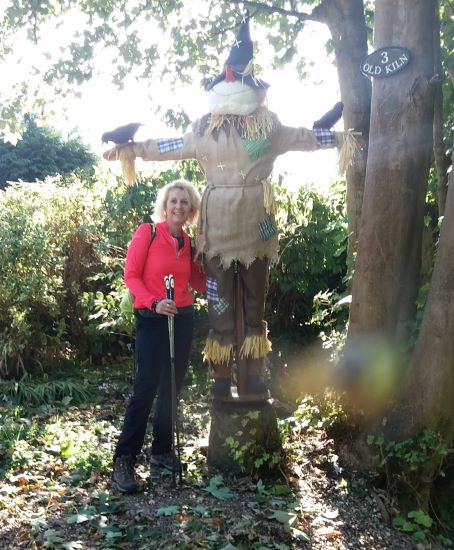 Scarecrow in Brading