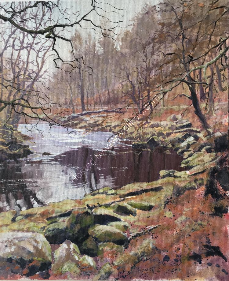 'BEND IN THE RIVER' BOLTON ABBEY