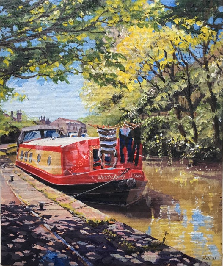 'MUST BE MONDAY' SKIPTON CANAL