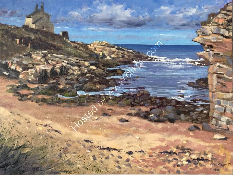 'HOWICK HAVEN' NEAR CRASTER NORTHUMBERLAND