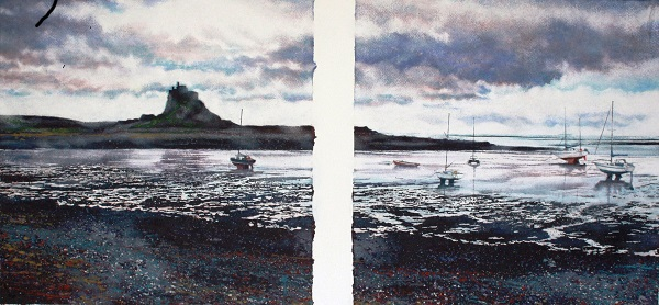 LINDISFARNE AND THE HARBOUR