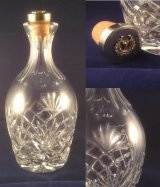 A bespoke regimental decanter, hand-etched with one of the unit's most famous images