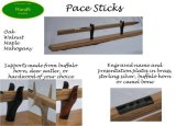 Bespoke British Army pace-sticks and stands