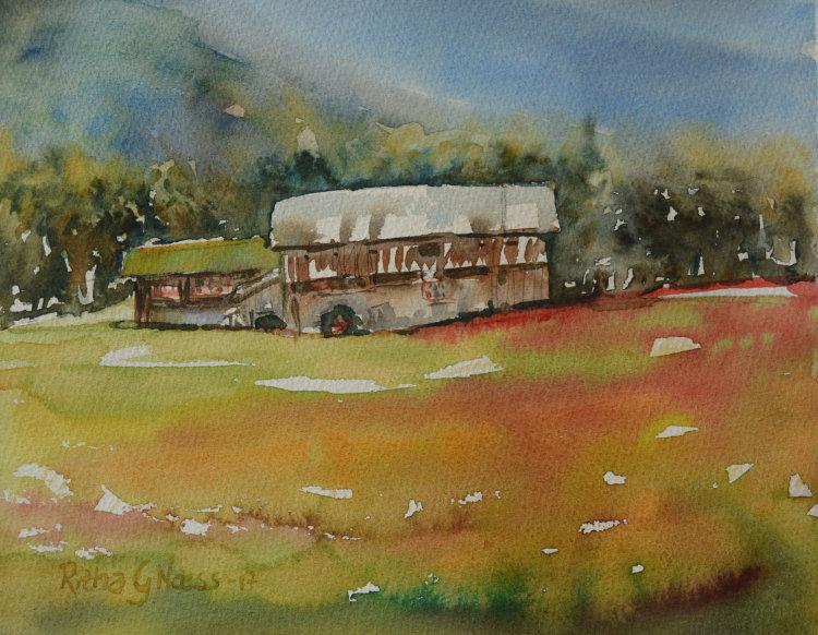 Old Mountain Farm / Ytste Skotet