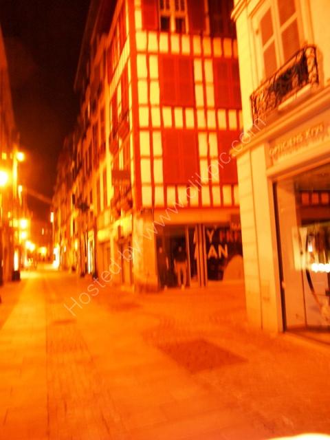 Bayonne at night 19th March 2013