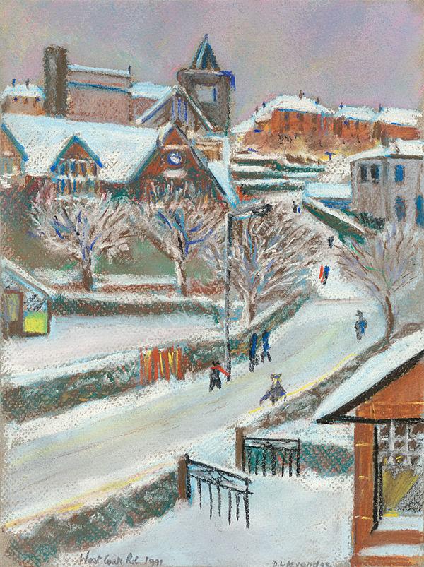Big Snow West Coats Rd Cambuslang 1991