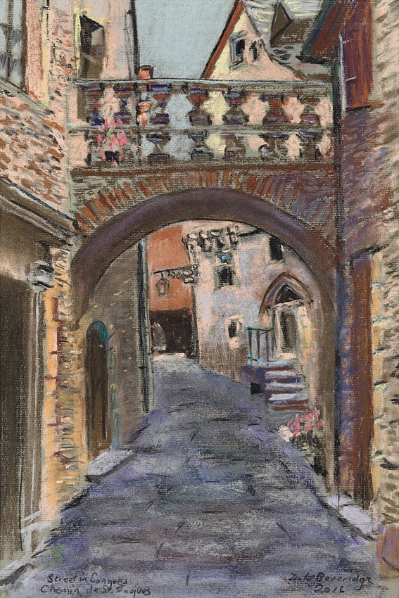 Street in Conques