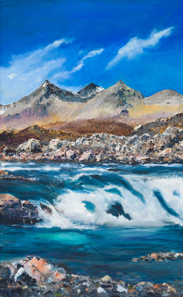 The Cuillin Morning