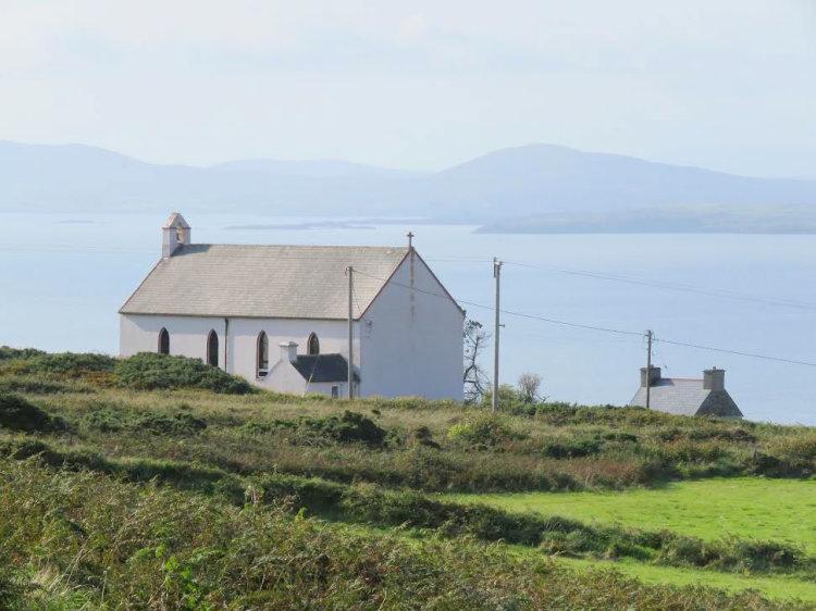 107. Eaglais Naomh Ciarán, Oiléan Chléire; St Kieran's Church, Cape Clear Island