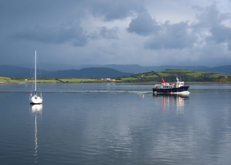 162. Ferry Crossing, Bantry Bay