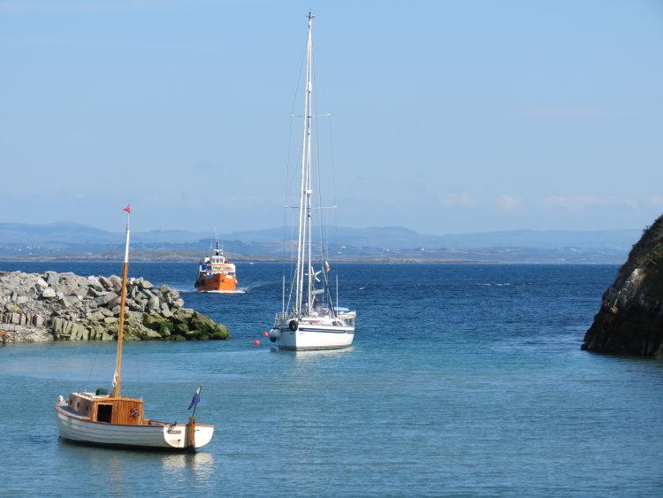 18. Trá Chiarán, Oiléan Chléire,North Harbour, Cape Clear Island