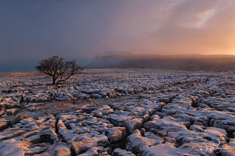 First Light on Ingleborough