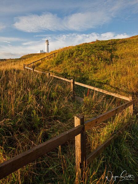 Flamborough Head Lighthouse.