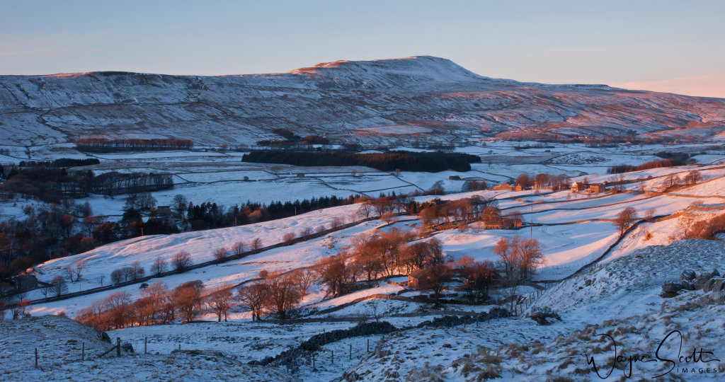 Whernside in winter
