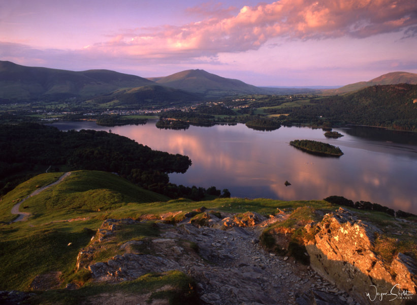 Dewentwater and Keswick from Catbells