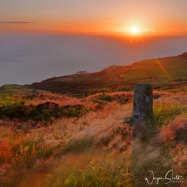 Sunrise at Ravenscar